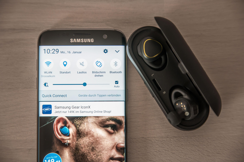 Gear IconX für 149€ direkt bei Samsung