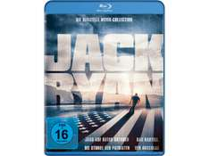 (Saturn) Jack Ryan – Movie-Collection (4x Blu-ray) für 12€