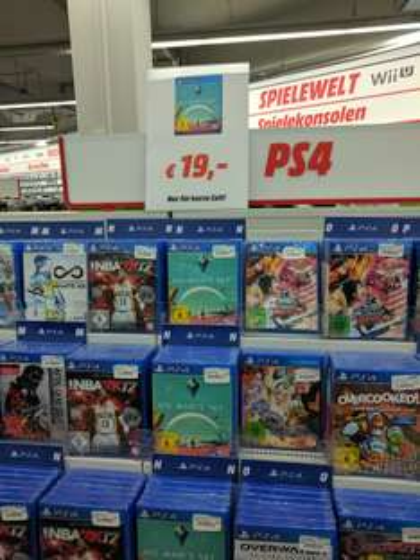 Lokal - Media Markt Wuppertal - PS4 No Man's Sky 19€