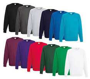 (Ebay)  Details zu  Fruit of the Loom Sweatshirt M L XL XXL Shirts Herren Pullover Pulli Shirt Neu