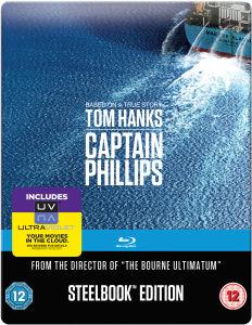 (Zavvi) Captain Phillips: Mastered in 4K Edition - Steelbook (Blu-ray) für 11,13€
