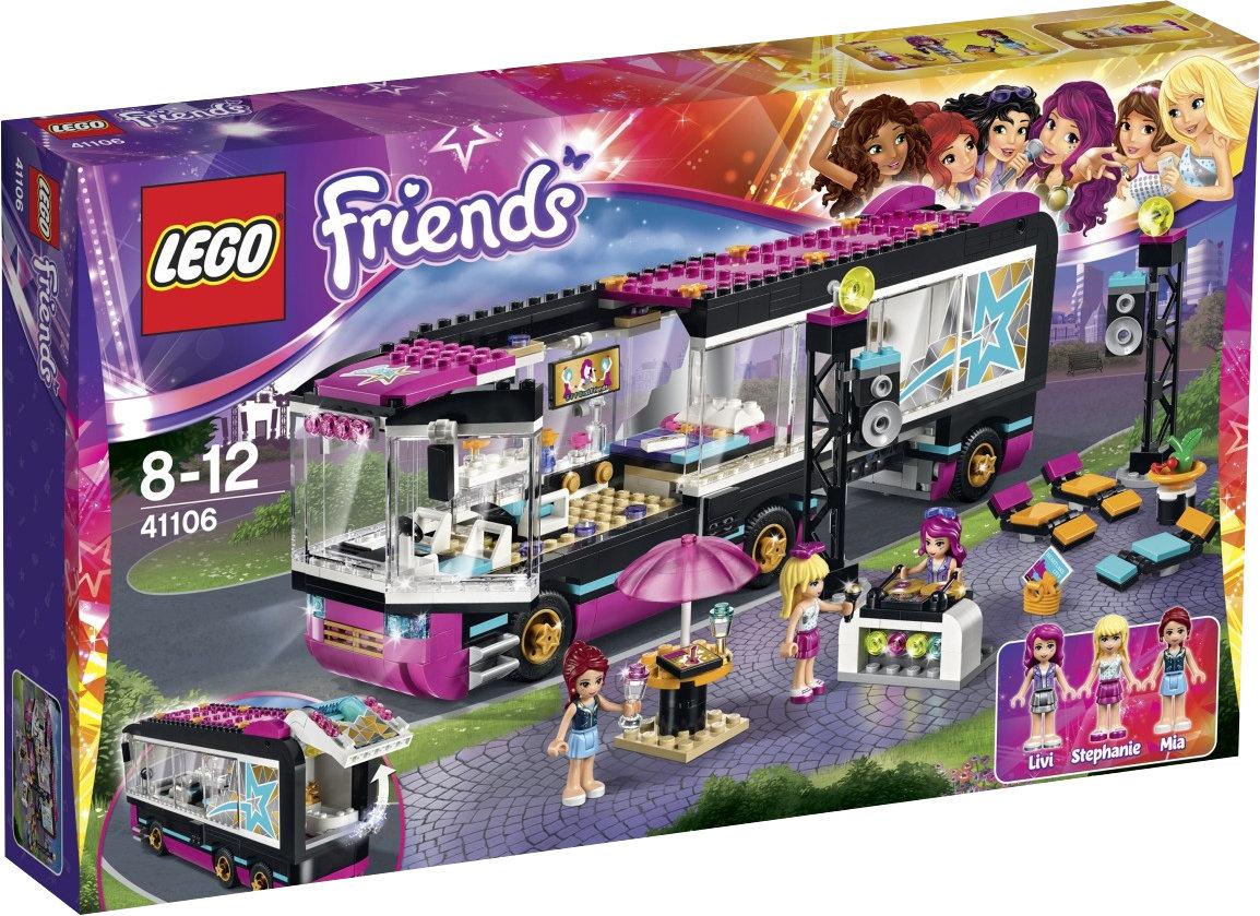 [amazon.fr] LEGO Friends 41106 - Popstar Tourbus | 35,90 € inkl. Versand statt 47,94 €
