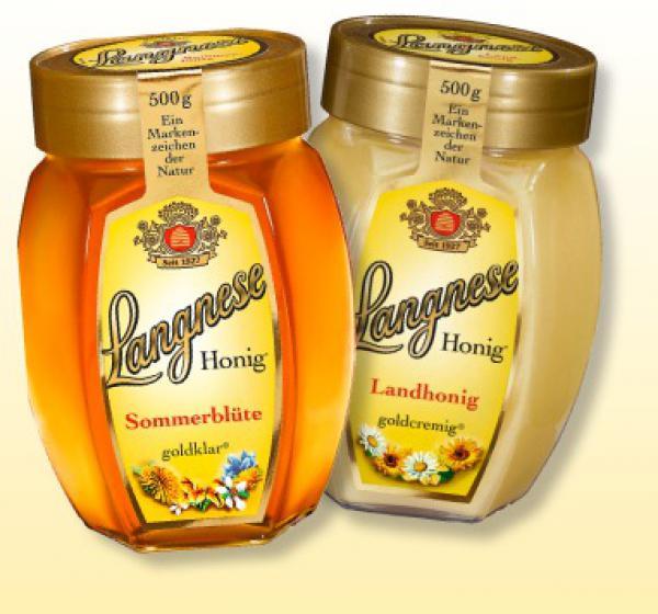Langnese Honig im 500g-Glas, 25% billiger für nur 3,49€ @Real