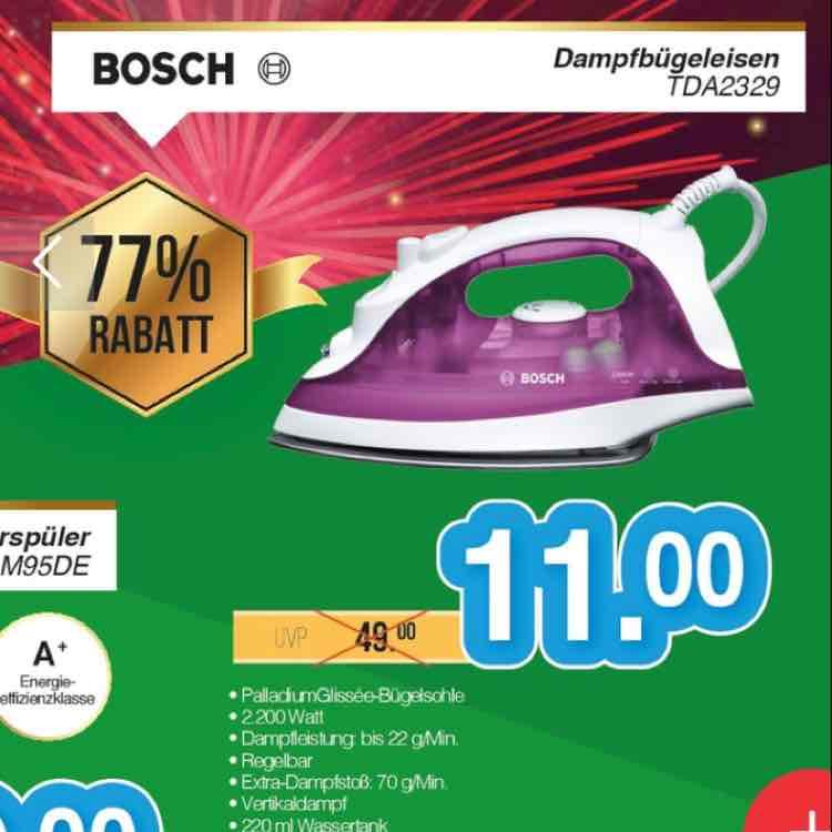 [lokal Berlin] Bosch TDA2329 Bügeleisen