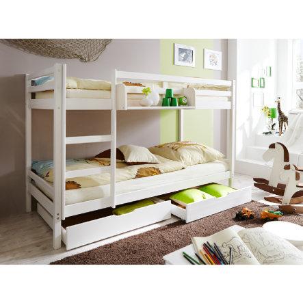 Etagenbett TICAA Rene in weiß oder natur für 98,10€ versandkostenfrei bei [babymarkt]