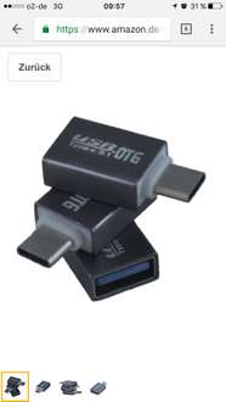 (Amazon Prime) Preisfehler? USB-C auf USB 3.0 Adapter mit OTG