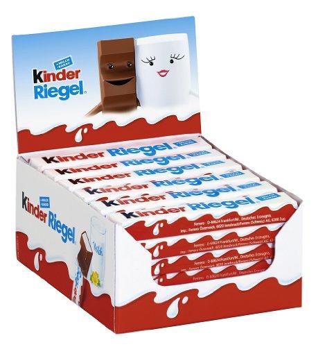 Amazon Prime: Kinder Riegel Einzelriegel 36er Pack (36 x 1 Riegel Packung) für 9,29 € (13,08 € PVG)