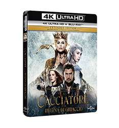 ((Amazon.it)) Snow White and the Huntsman + The Huntsman: Winter's War [4K Ultra HD + Blu-ray] für 18,92€ inkl. Versand.