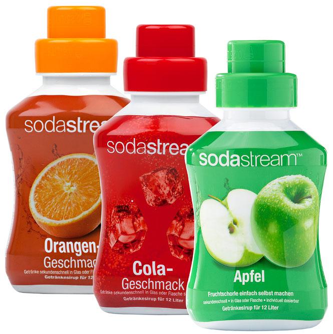 SodaStream Sirupkonzentrat versch. Sorten je 2,79€ bundesweit Kaufland.