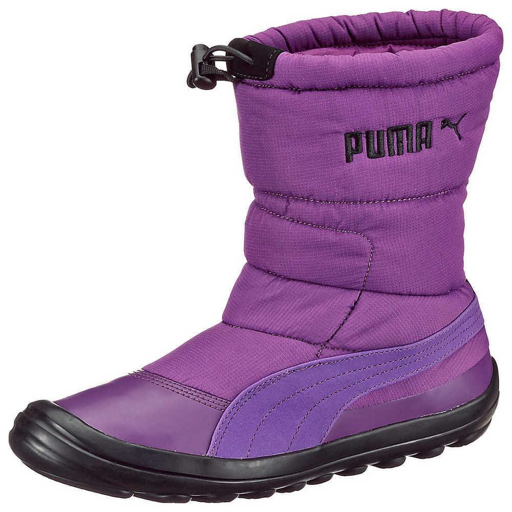 Puma Zooney Nylon Boot WTR purple