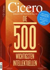 13 Ausgaben des Cicero Magazin durch direktrabatt für 24,95 € anstatt 112,80€