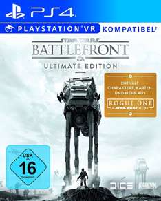 Star Wars Battlefront (Ultimate Edition) - Xbox One, PC oderPlaystation 4 für je 22,-€ Versandkostenfrei [Saturn Late Night Shopping]