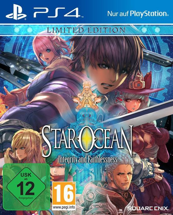 (Gamestop Offline) PS4 Star Ocean Limited Edition Steelbook