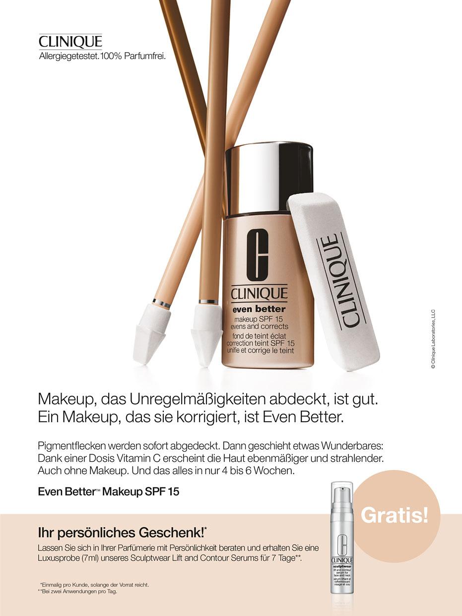 Parfümerien mit Persönlichkeit:  Sculptwear Lift and Contour Serums  von Clinique (7ml) gratis