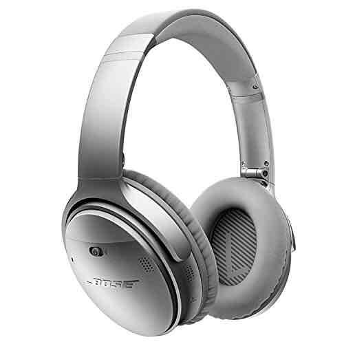 [Amazon.es] BOSE QuietComfort® 35 wireless Acoustic Noise Cancelling® Bluetooth Kopfhörer, silber + schwarz inkl. Versand nach Deutschland