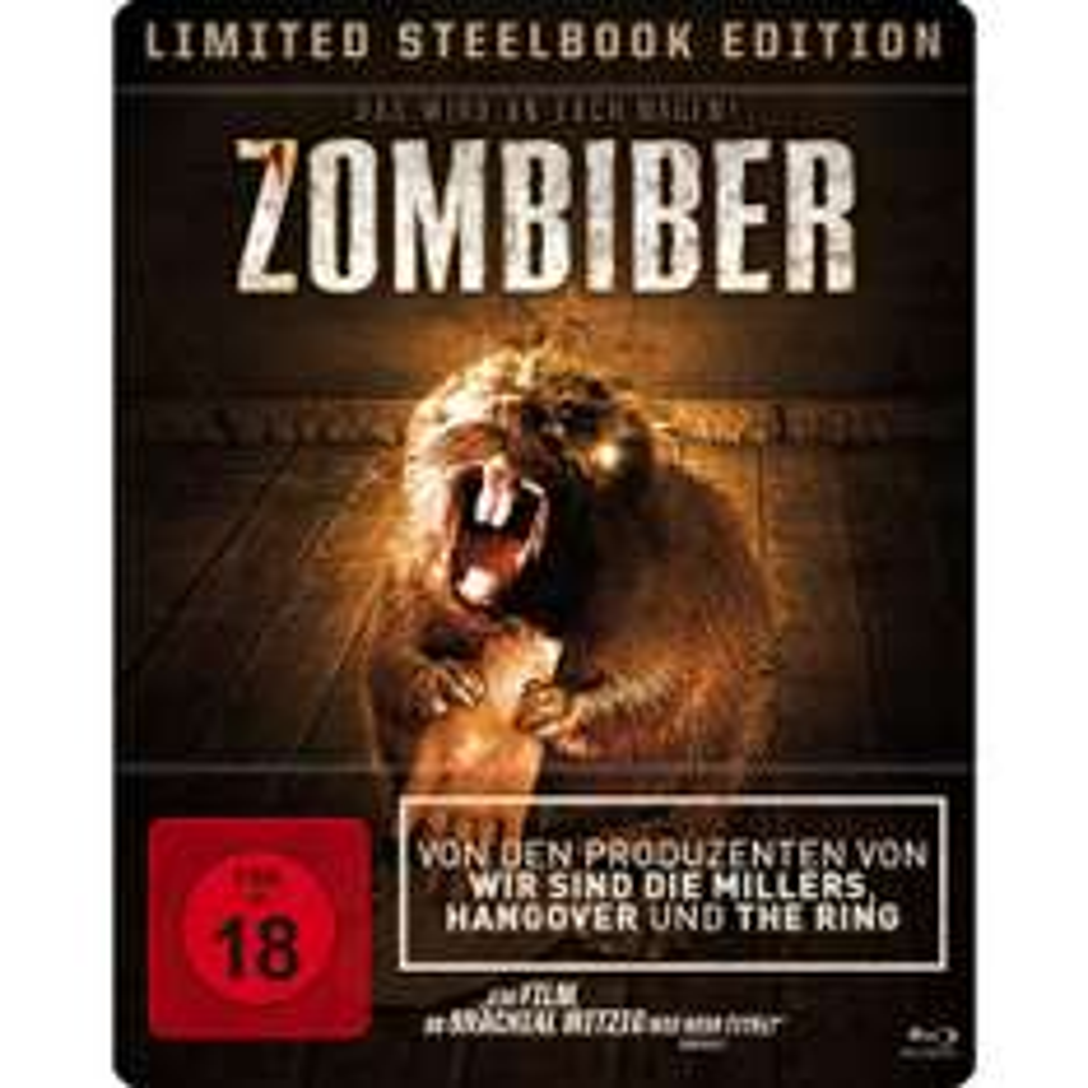 (Lokal Müller) Steelbooks z.B. Zombiber [Blu-ray] für 6,30€, Brick Mansions (Extended Edition Steelbook) (Blu-ray) für 7,99€ uvm.