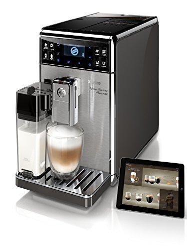 Idealo 1150€ - Blitzangebot Amazon - Saeco HD8967/01 GranBaristo Avanti Kaffeevollautomat, Appsteuerung, integrierte Milchkaraffe, silber