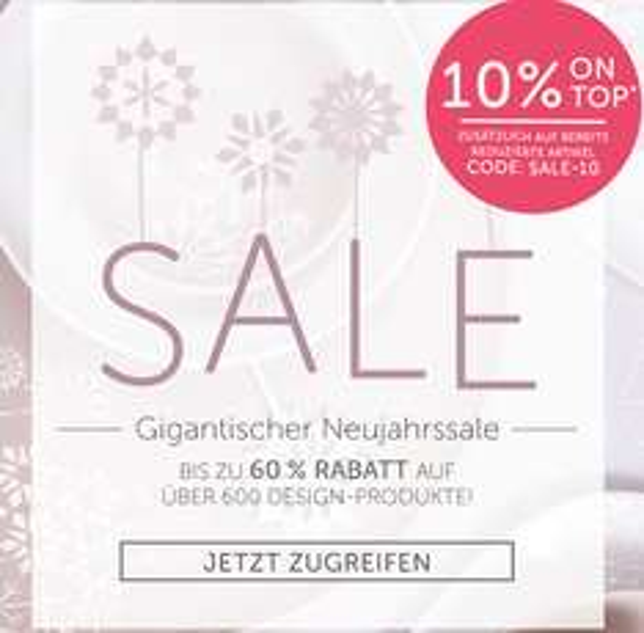 10% extra Rabatt auf den Sale bei Geliebtes Zuhause