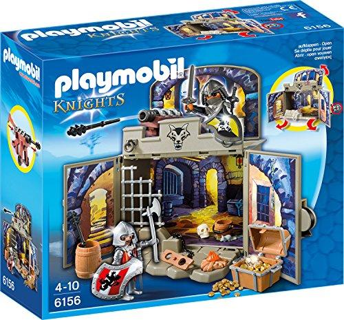"""Playmobil Knights 6156 - Aufklapp-Spiel-Box """"Ritterschatzkammer"""" für 10,00 € [Amazon.de]"""