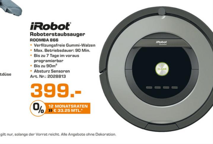 IRobot Roomba 866 in Hamburg *Saturn*