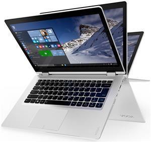 "[Computeruniverse] Lenovo Yoga 510-14IKB 80VB - Flip-Design - Core i5 7200U / 2.5 GHz - Win 10 Home 64-Bit - 8 GB RAM - 1 TB HDD - 35.6 cm ( 35,60cm (14"") ) IPS Touchscreen 1920 x 1080 ( Full HD ) - HD Graphics 620 - Wi-Fi - weiß"