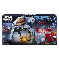[real]Star Wars Rogue One ferngesteuerter Rapid Fire Imperial AT-ACT + 3 Figuren