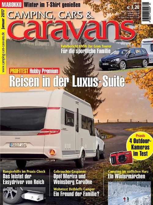 Magazin Camping, Cars & Caravans. 2 Ausgaben Gratis. Kündigung Notwendig