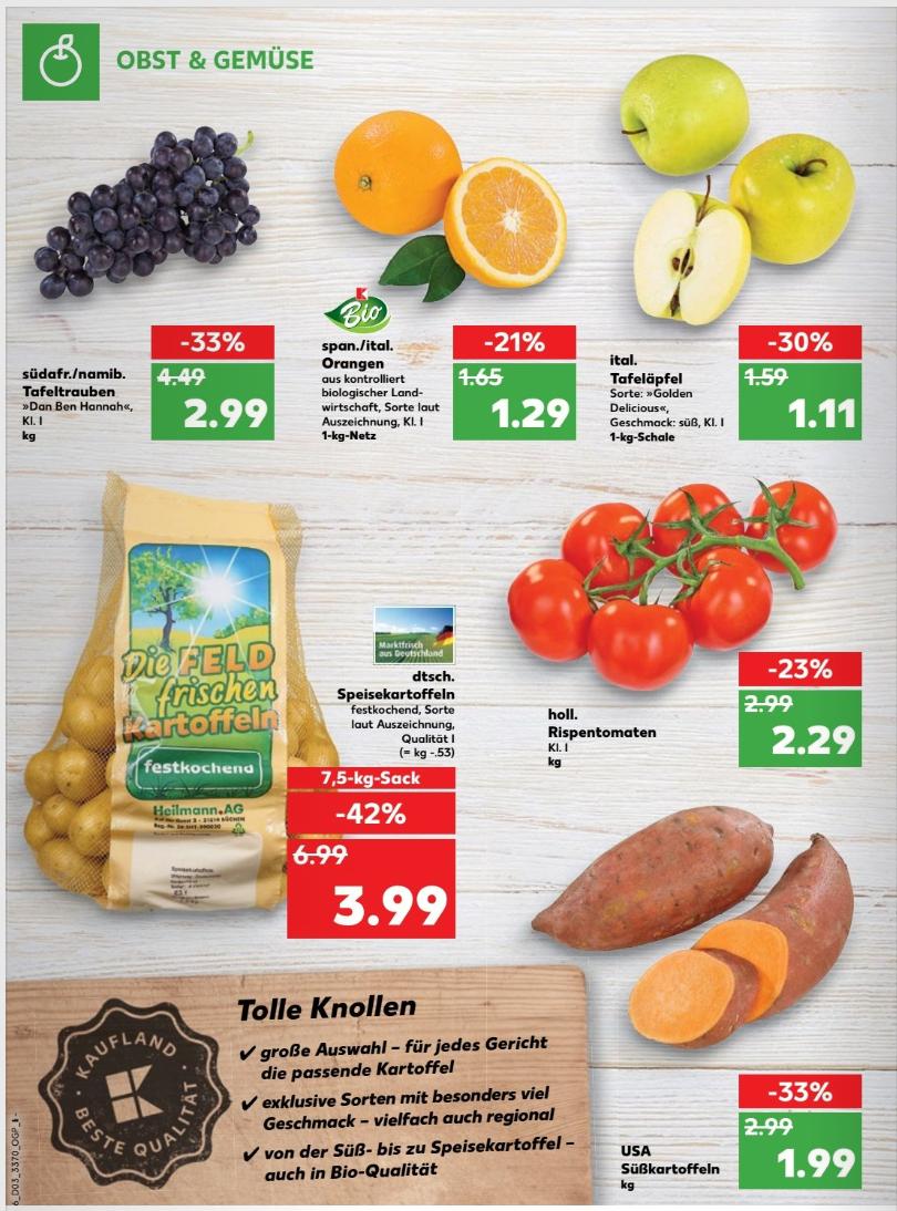 Süßkartoffeln für 1,99€/Kilo bei Kaufland!