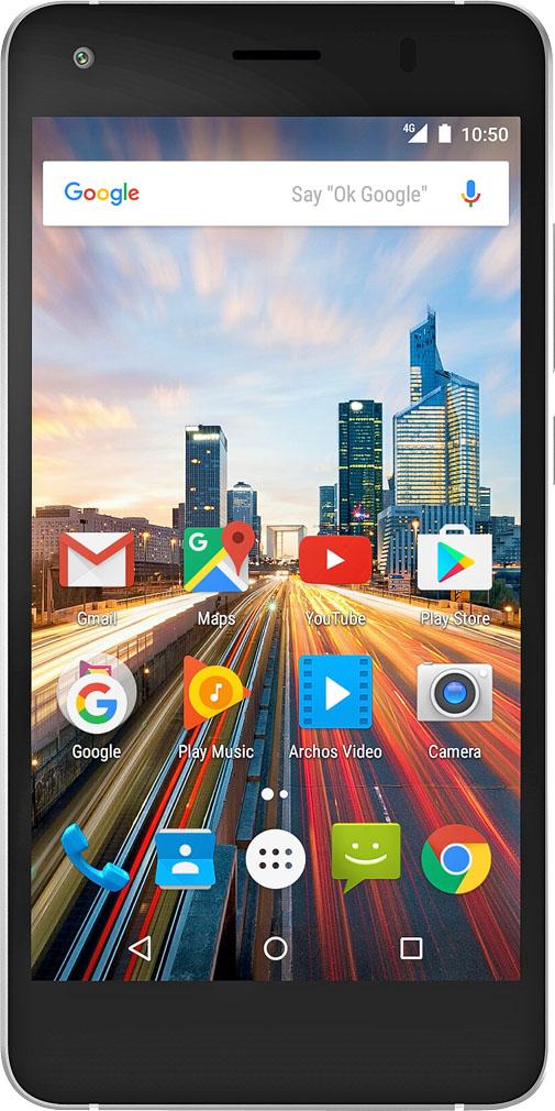 """ab 26.01. Archos Smartphone »50f Helium Lite« 5"""" Dual-SIM LTE Fingerprint für 99,99€ [Kaufland]"""