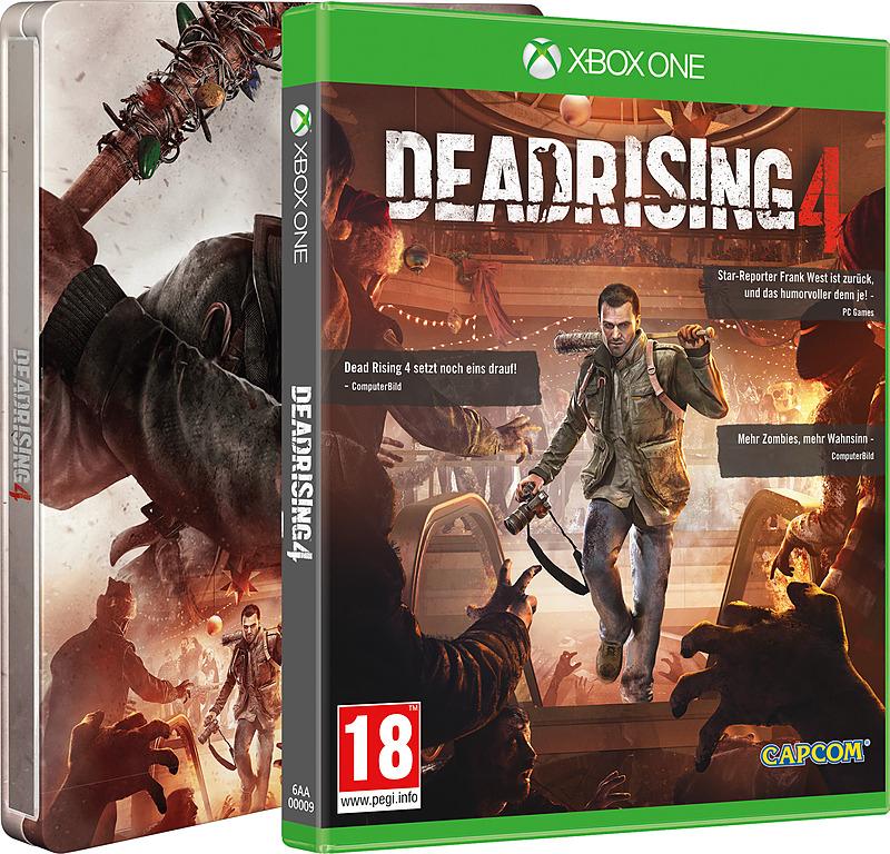 Dead Rising 4 inkl. Steelbook + 2 DLCs (Xbox One AT-PEGI) für 39,90€ inkl. VSK (gameware.at)