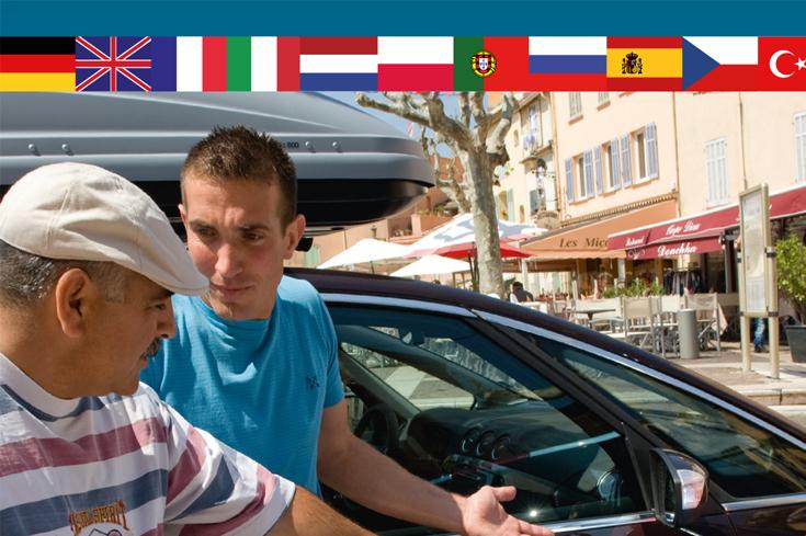Kostenloser Europäischer Unfallbericht mit mehrsprachiger Ausfüllanleitung und Durchschlag