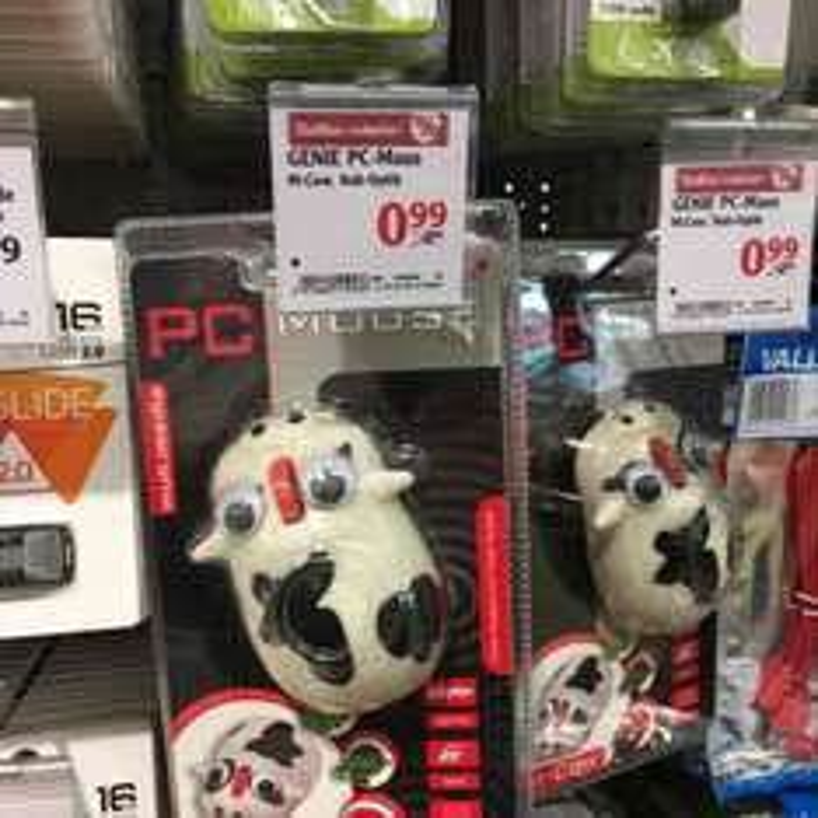 GENIE M-Cow PC-Maus [Lokal: Globus Lahnstein]