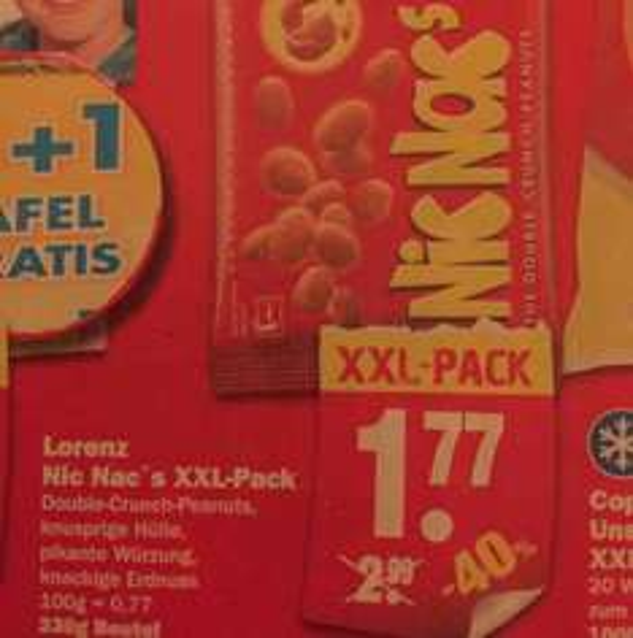 Lorenz Nic Nac's XXL-Pack 230g [Lokal NP]