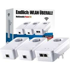 ZackZack - Multimedia Power Kit mit PowerLan bis zu 1200 MBit/s