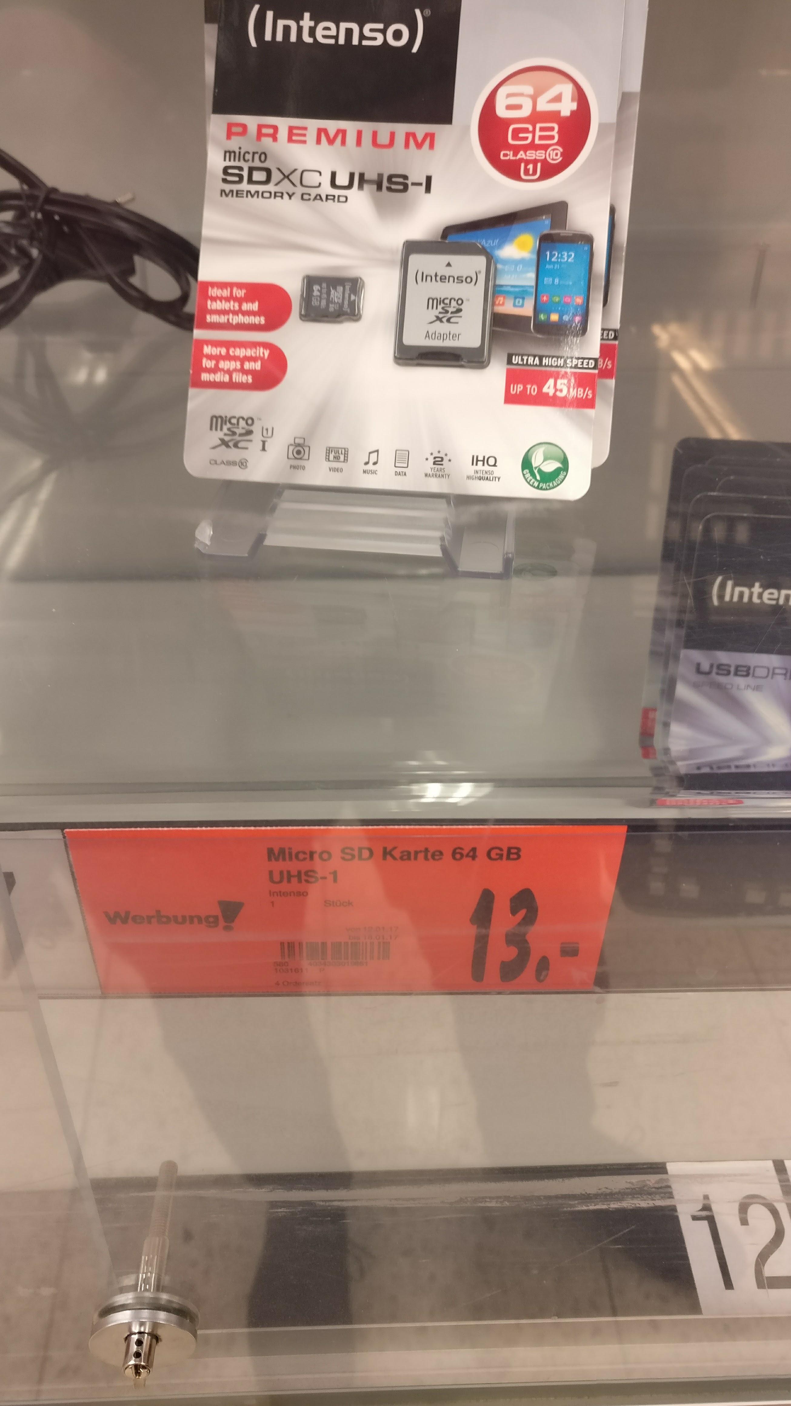 Lokal Kaufland Siegen Intenso Micro-SD 64GB