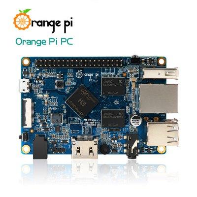 Orange Pi PC H3 Quad-core als Alternative zum Raspberry Pi