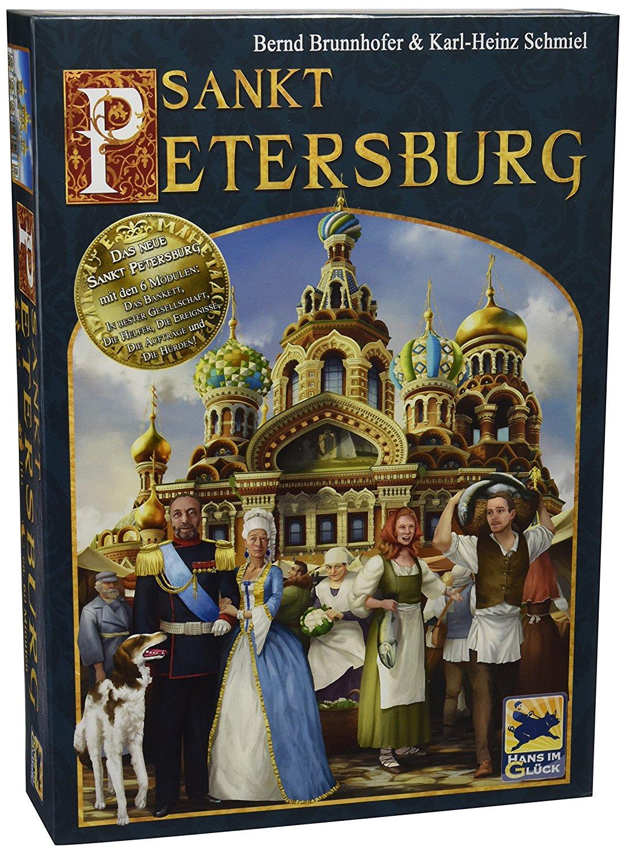 """[Lokal?] Karstadt Rhein Ruhr Zentrum """"Sankt Petersburg 2. Edition"""" Brettspiel Hans im Glück Verlag"""