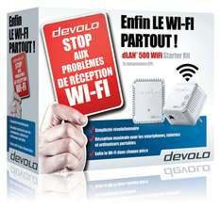 Amazon.fr. Devolo 500 Wifi Starter Kit für 63.87.