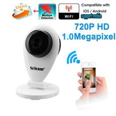 [Gearbest] Sricam 720P H.264 Wifi IP Camera Wireless Nightvision