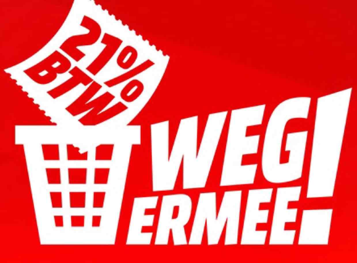 [Mediamarkt Niederlande] 26.-29.01 Mehrwertsteuer/BTW geschenkt - 17,36% Rabatt - online und offline