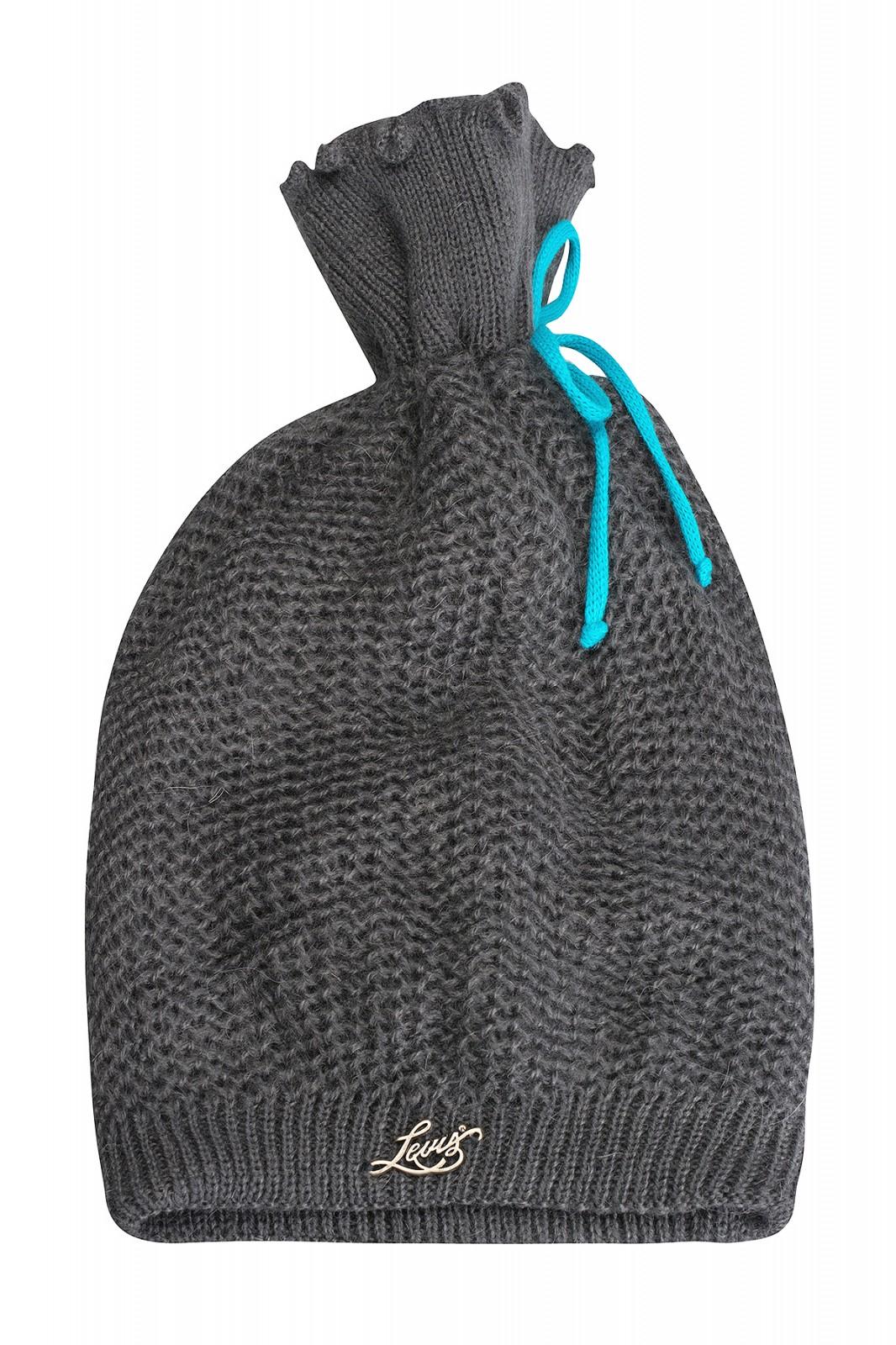 [Outlet46] Levi's Goat Wool Damen Wintermütze Grau 217998/1 56 für 0,99 Euro