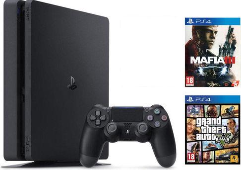 [SCHWEIZ Digitec] Sony PS4 Slim 1TB + GTA V + Mafia 3