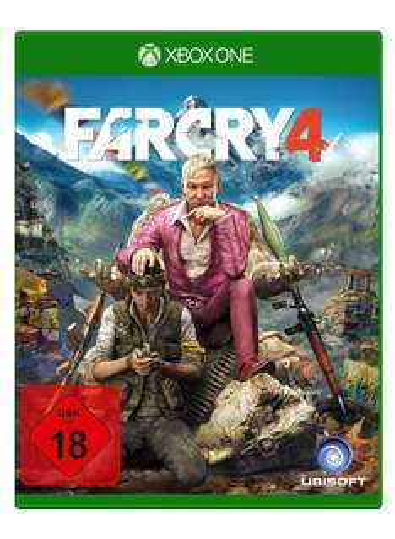 Far Cry 4 Standard Edition (Xbox One AT-PEGI) für 19,89€ inkl. VSK (gameware.at)