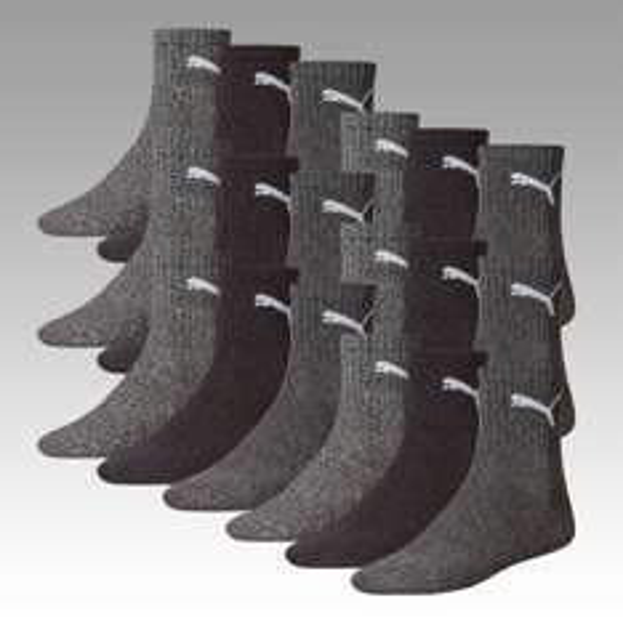 18 Paar Puma Socken (Crew/Invisible/Quarter) für 29,95€ statt 34,95€ @Allstar