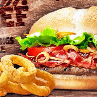 Burger King mit vielen nagelneuen Angeboten