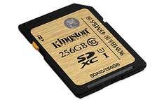 Kingston Ultimate SDXC 256GB, UHS-I/Class 10 für 76€ @ Amazon.fr