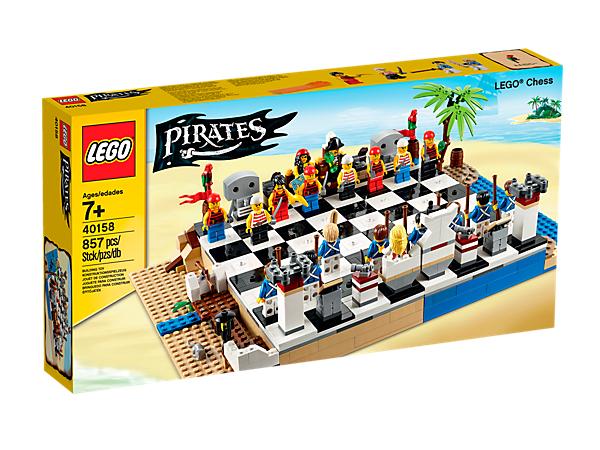 [Lego-Store] LEGO® Piraten-Schachspiel für 30,99€ inkl. Versand