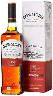 [AMAZON BLITZANGEBOT] Bowmore 15 Jahre Single Malt Scotch ~ 7€ unter PVG