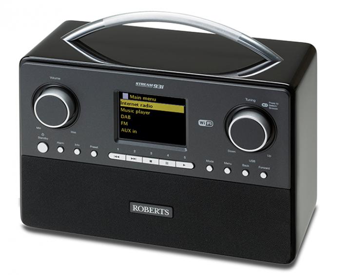 Roberts Radio Stream93i (DAB+/FM/Spotify/ USB + WIFI Internetradio) mit Fernbedienung für 128,23€ [amazon.fr]