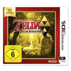 Nintendo 3ds The Legend of Zelda - A Link Between Worlds Selects (Real Filiallieferung)